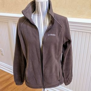 Columbia Fleece Jacket. Size Medium.